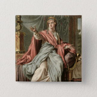 """Esther dräkt för """"Esther"""" vid Jean Racine, från Standard Kanpp Fyrkantig 5.1 Cm"""