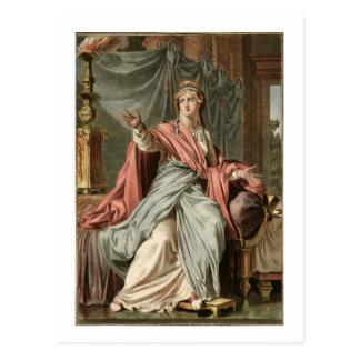 """Esther dräkt för """"Esther"""" vid Jean Racine, från Vykort"""