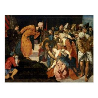 Esther för Ahasuerus, 1548 Vykort