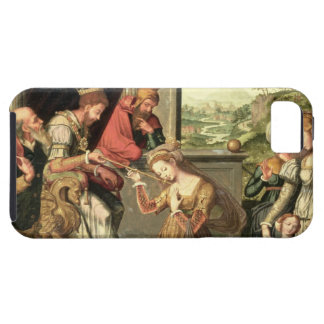 Esther för kungen Ahasuerus med Haman som överförs iPhone 5 Skal