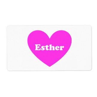 Esther Fraktsedel