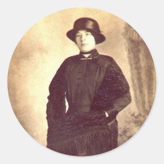 Esther Runt Klistermärke