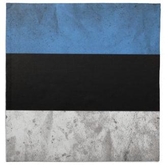 Estland flagga tygservett
