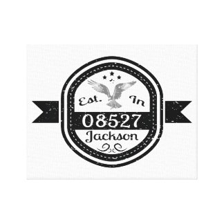 Etablerat i 08527 Jackson Canvastryck