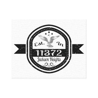 Etablerat i 11372 Jackson Heights Canvastryck