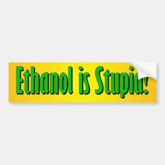 Ethanol är dum bildekal