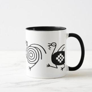 Ethnic_bird_symbol_mug Mugg