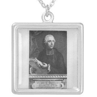 Etienne Bonnot de Condillac Silverpläterat Halsband