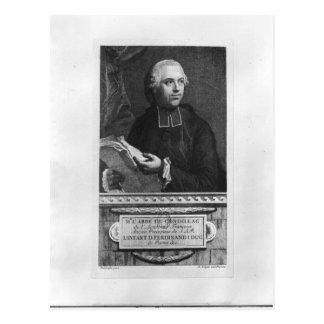 Etienne Bonnot de Condillac Vykort