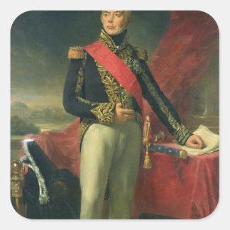 Etienne-Jacques-Joseph-Alexandre Macdonald Fyrkantigt Klistermärke