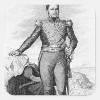 Etienne Maurice Gerard Fyrkantigt Klistermärke