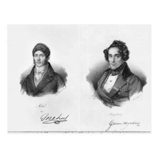 Etienne Mehul och Giacomo Meyerbeer Vykort