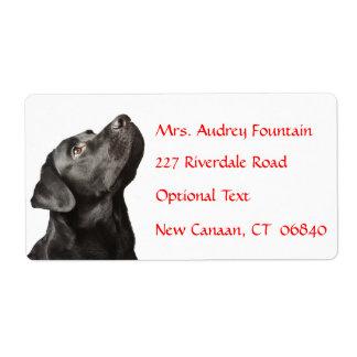 Etikett för adress för namn för personlig för fraktsedel