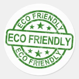 Etikett för Eco vänskapsmatchgrönt