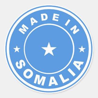 etikett för produktlandflagga som göras i somalia