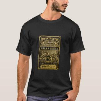 Etikett för vintageTabacco cigarr T Shirts