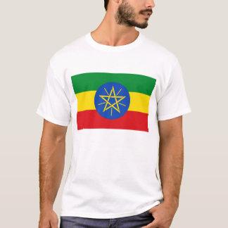Etiopien flagga tee shirt