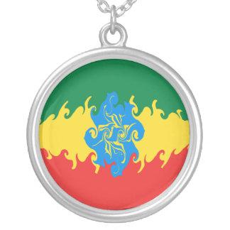 Etiopien Gnarly flagga Anpassningsbar Halsband