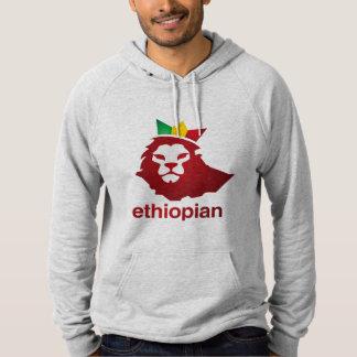 Etiopiern driver - ullPulloverhoodien Tröja Med Luva