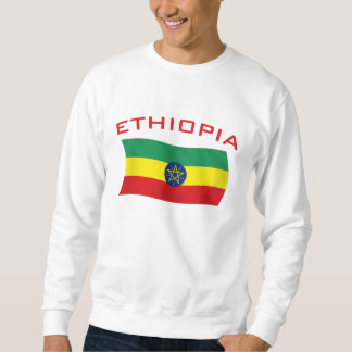 Etiopisk flagga 2 lång ärmad tröja