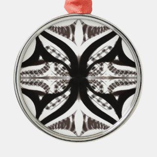 Etnic ögon julgransprydnad metall