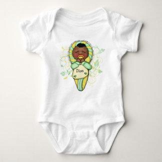 Etnisk baby för personlig t-shirt