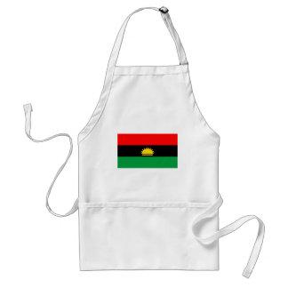Etnisk flagga för Biafra republikminoritet folk Förkläde