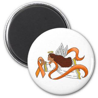 """Etnisk medvetenhetängel """"för orange band"""" magnet rund 5.7 cm"""
