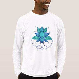 Etnisk prydnad för blommalotusblommamandala tee shirt
