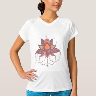 Etnisk prydnad för blommalotusblommamandala tröjor