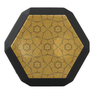 Etniskt modernt geometriskt mönster svart bluetooth högtalare