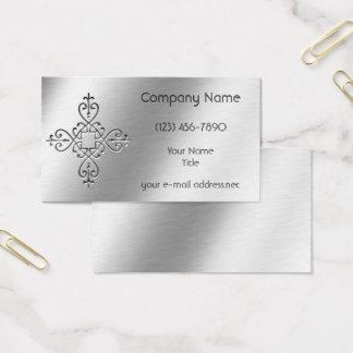Etsad Aluminum design Visitkort