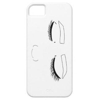 Ett ansikte iPhone 5 Case-Mate fodraler