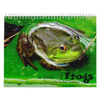 Ett år av grodakalendern kalender