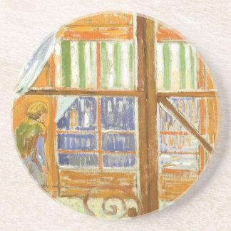 Ett charkfönster av Vincent Van Gogh Underlägg