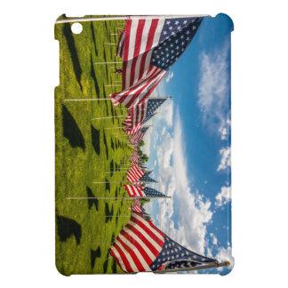Ett fält av amerikanska flaggan på V-dag minne iPad Mini Skydd
