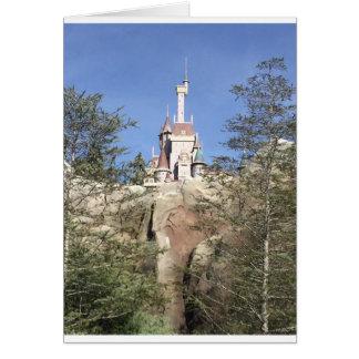 Ett förtrollat slott hälsningskort