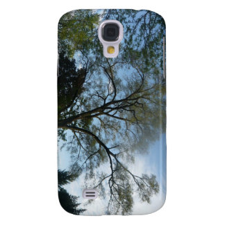 Ett fyllt härligt träd landskap galaxy s4 fodral