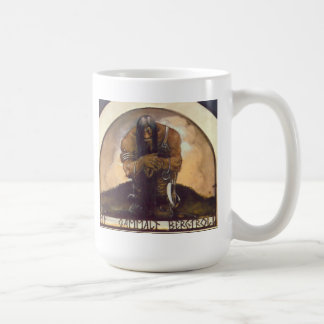 Ett gammalt bergtroll kaffemugg