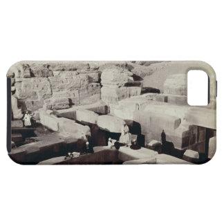 Ett grävt tempel på foten av sphinxen, 4th iPhone 5 fodral