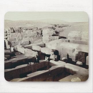 Ett grävt tempel på foten av sphinxen, 4th musmatta