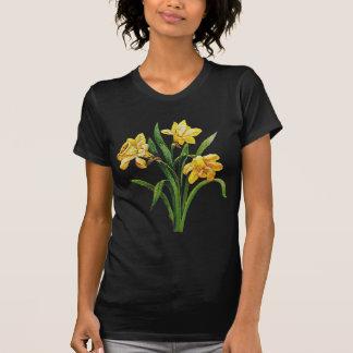 Ett guld- varar värd av broderade påskliljar tröja