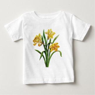 Ett guld- varar värd av broderade påskliljar tröjor