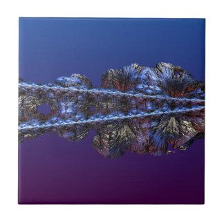 Ett handlag av frost - landskap kakelplatta