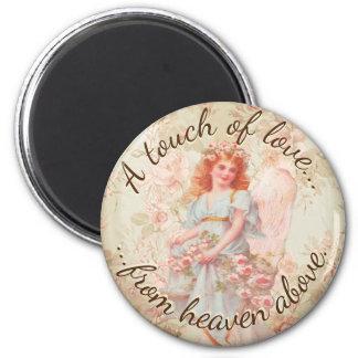 Ett handlag av kärlek från himmel över magnet rund 5.7 cm