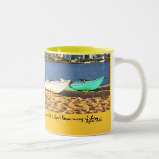 … ett hettbad - Sylvia Plath citationstecken Två-Tonad Mugg