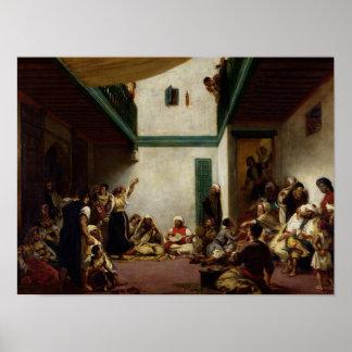Ett judiskt bröllop i Marocko, 1841 Poster