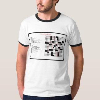 Ett korsord för pappa tshirts
