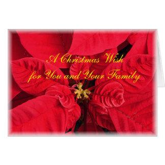Ett kort för julWishhälsning