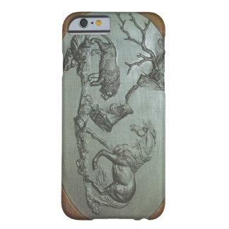 Ett lejont, en häst, ett fodral 1780 för barely there iPhone 6 fodral